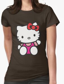 Hello Kitty Womens Fitted T-Shirt
