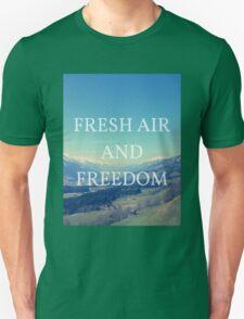 Fresh Air And Freedom T-Shirt