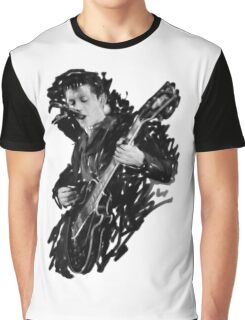 Alex Turner Digital Oil Painting Graphic T-Shirt