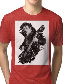 Alex Turner Digital Oil Painting Tri-blend T-Shirt