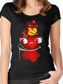 Ms. Corset Women's Fitted Scoop T-Shirt