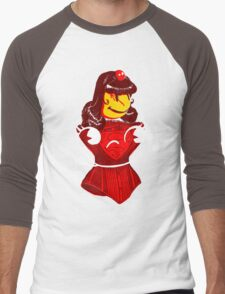 Ms. Corset Men's Baseball ¾ T-Shirt