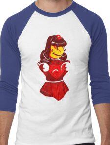 Ms. Corset Men's Baseball ¾ T-Shirt