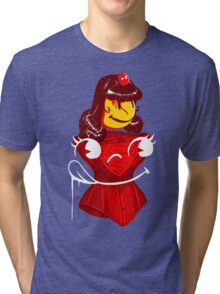 Ms. Corset Tri-blend T-Shirt