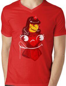 Ms. Corset Mens V-Neck T-Shirt