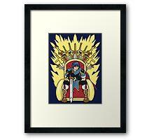 The Hero King Of Emblems Framed Print