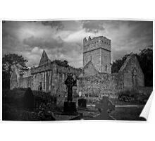 Muckross Abbey Poster