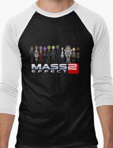 Mass Effect 2 Crew ver. 2 Men's Baseball ¾ T-Shirt