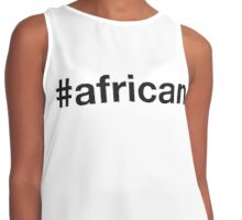 AFRICAN Contrast Tank
