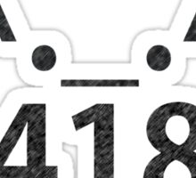 MaoMao: 418 B Sticker