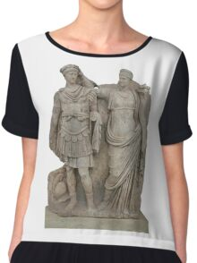 Nero and His Mother, Agrippina Chiffon Top