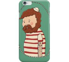 sad little sailor (in full colour) iPhone Case/Skin