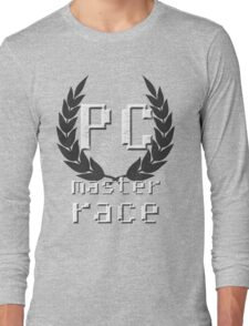 PC master race Long Sleeve T-Shirt