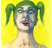 Crazy Girl in Yellow by Sorsha Morris