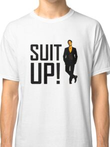 """How I met your mother """"Suit up"""" of Barney Stinson Classic T-Shirt"""