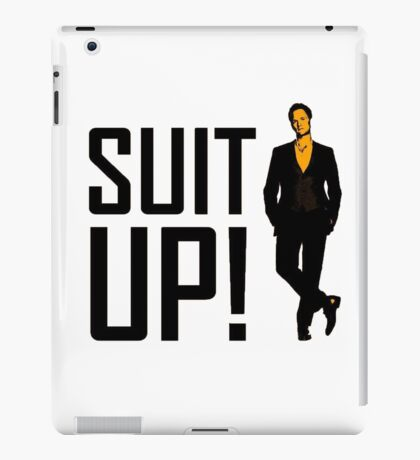 """How I met your mother """"Suit up"""" of Barney Stinson iPad Case/Skin"""