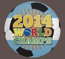 2014 World Champs Ball - Argentina by crouchingpixel