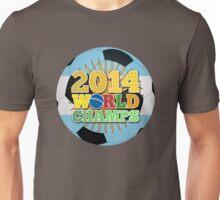 2014 World Champs Ball - Argentina Unisex T-Shirt