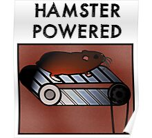 Hamster powered Poster
