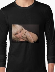 Two Blondes Long Sleeve T-Shirt