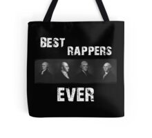 Best Rappers Ever - Hamilton (White text) Tote Bag