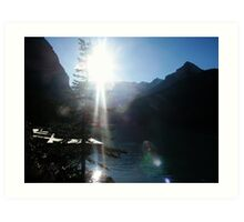 Rocky Mountain Sunshine Art Print