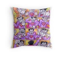 Bizarro Boogie Throw Pillow