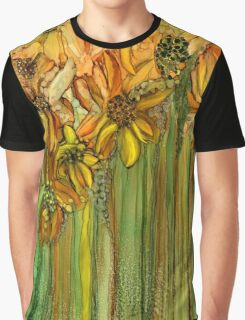 Wild Sunflower Garden Graphic T-Shirt