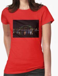 Bridge In The Dark Womens Fitted T-Shirt