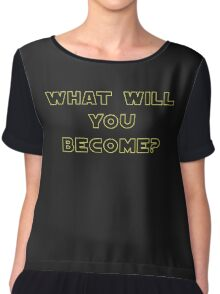 Rogue One- What Will You Become? Outline Chiffon Top