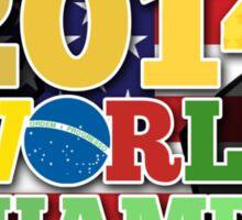 2014 World Champs Ball - USA Sticker