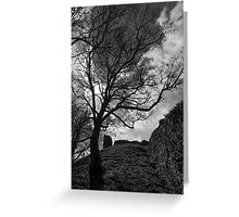 Pickering Castle Greeting Card