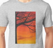 red tree Unisex T-Shirt