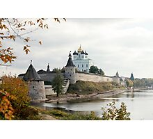 Travel in Russia Pskov Kremlin  Photographic Print