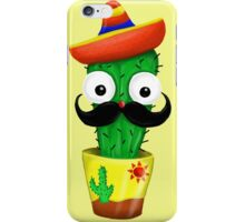 Cactus Moustache  iPhone Case/Skin