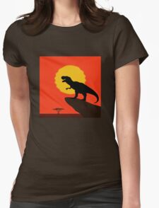 The Dinosaur King Womens Fitted T-Shirt