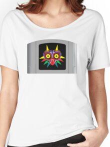 Majora's Mask N64 Cartridge Women's Relaxed Fit T-Shirt