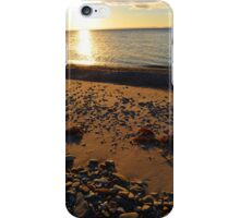 Bras d'Or Beach in Autumn iPhone Case/Skin