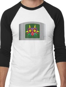 Majora's Mask N64 Cartridge Men's Baseball ¾ T-Shirt