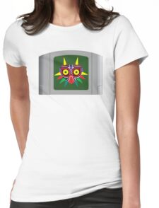 Majora's Mask N64 Cartridge Womens Fitted T-Shirt