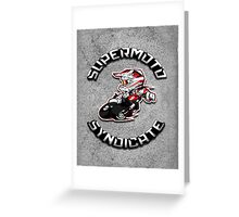 Supermoto syndicate Greeting Card