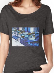 Downtown Houston Rooftops Women's Relaxed Fit T-Shirt