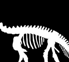 Brontosaurus skeleton Sticker