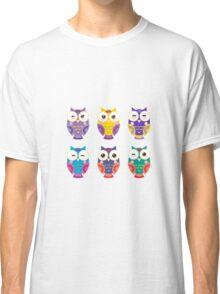 Colourful owls Classic T-Shirt