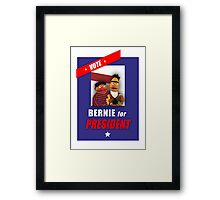 Bernie for President Framed Print