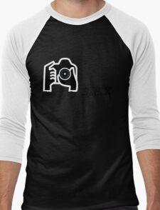 Photographer Camera T-Shirt Men's Baseball ¾ T-Shirt