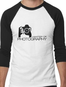 Photographer Camera T-Shirt Men's Baseball ¾ T-Shirt