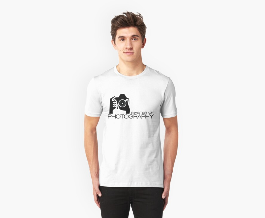 Photographer Camera T-Shirt by CroDesign