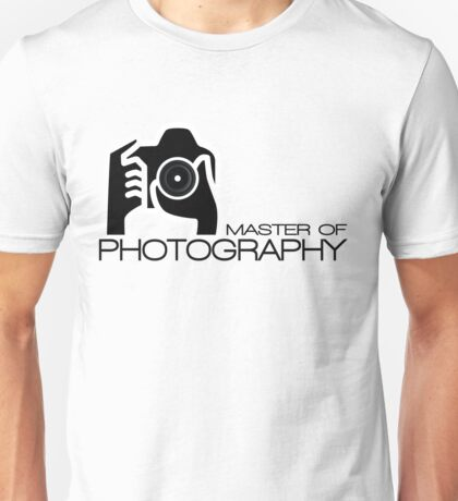 Photographer Camera T-Shirt Unisex T-Shirt