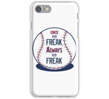 "Tim Lincecum ""The Freak"" Angels shirt iPhone Case/Skin"